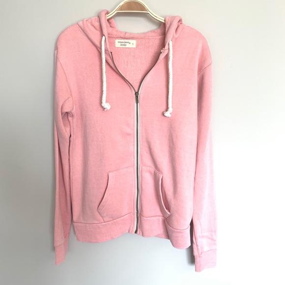 Ocean Drive Tops - Pink Zip Hoody from Ocean drive
